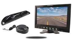 9-Inch Color Monitor with Parking Backup Sensor and License Camera Bar (TB-B2)