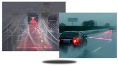 Laser safety fog light for car and motorcycles Warning Signal
