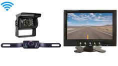 5th Wheel Rear View System with 2 Wireless Backup Cameras and Monitor