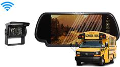 Wireless School Bus Backup Camera System