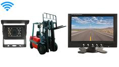 Fork Lift Backup Camera System with 7-Inch Monitor and Wireless Battery