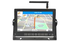 RV Touch Screen GPS Navigation System with 3 optional Backup Cameras