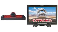 Citroen Jumper Van 3rd Brake Light Backup Camera System