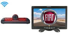 Fiat Ducato Van Wireless 3rd Brake Light Backup Camera System