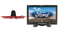 Ford Transit Van 3rd Brake Light Backup Camera System