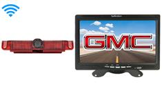 GMC Savana Van Wireless 3rd Brake Light Backup Camera System