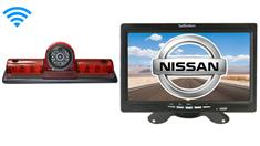 Nissan NV Van Wireless 3rd Brake Light Backup Camera System