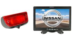 Nissan NV200 Van 3rd Brake Light Backup Camera System