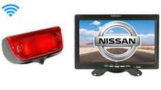 Nissan NV200 Van Wireless 3rd Brake Light Backup Camera System