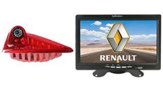 Renault Trafic 3rd Brake Light Backup Camera System