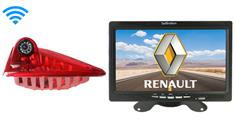 Renault Trafic Wireless 3rd Brake Light Backup Camera System