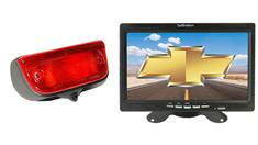 Chevrolet City Express Van 3rd Brake Light Backup Camera System