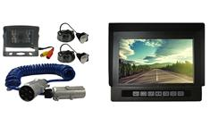 Heavy Duty Rearview Monitor and Backup Camera with Industrial Grade Quick Disconnect