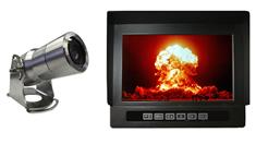 Extreme Environment Observation Camera with Heavy Duty Monitor