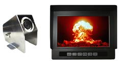 7-Inch Heavy Duty Monitor with Heavy Industry Housed Backup Camera