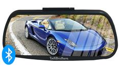 7-Inch Clip On Mirror with a Multi Media Touchscreen and Bluetooth Touch Keypad