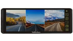 9-Inch Split Screen Mirror for up to 3 Backup Cameras