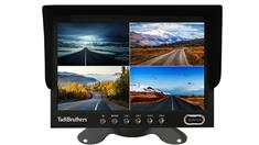 7-Inch Split Screen Monitor for up to 4 Backup Cameras