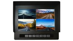 9-Inch Heavy Duty Split Screen Monitor for up to 4 Backup Cameras