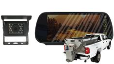 Salt Spreader Rear View Camera System