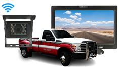 Brush Truck Wireless Backup Camera with Rear View Monitor