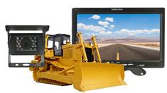 Bulldozer Backup Camera System with High Definition Rear View Monitor