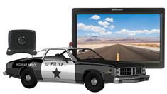Police Car Backup Camera System