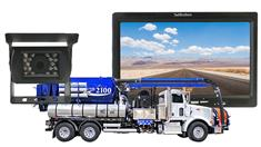 Sewer Flusher Truck Backup Camera System with Hi-Def Rear View Monitor