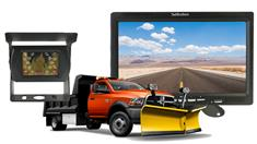 Snow Plow Heated Camera System with Heavy Duty Rear View Monitor