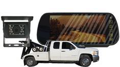 Wrecker Auto Loader Rear View Camera System