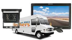 Delivery Truck Backup Camera (7-Inch Monitor with Roof Mounted Backup Camera)