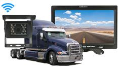 Semi Trailer Backup Camera Rear View System