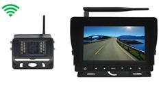 Heavy Duty Digital Wireless Backup Camera with Monitor featuring 150ft Range and Audio