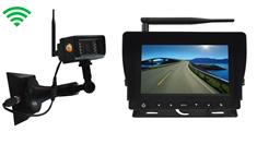 Portable Hitch Backup Camera with Monitor featuring a Magnet Base with an 18 Hour Battery