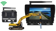 Pile driver wireless Backup Camera System [Commercial Grade]
