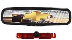 Chevrolet Express Van 3rd Brake Light Backup Mirror Camera System
