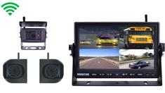 Digital Wireless Rear View System for RV with 1  RV Camera and Two Side Cameras
