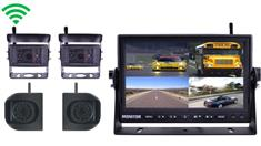 Digital Wireless Rear View System for RV with 2  RV Camera and 2 Side Cameras
