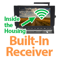 Built in receiver