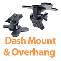 Monitor Mounts on Dash