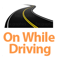 On while driving or in reverse