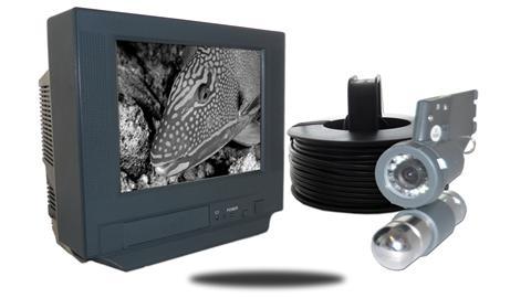 Underwater Camera B/W 7-Inch Monitor