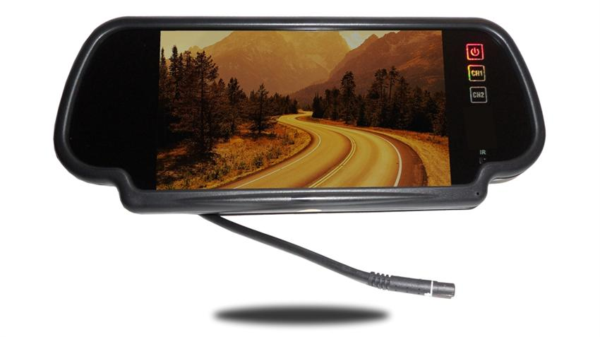 Wireless Rv Backup Camera With Rear View Mirror And Bluetooth