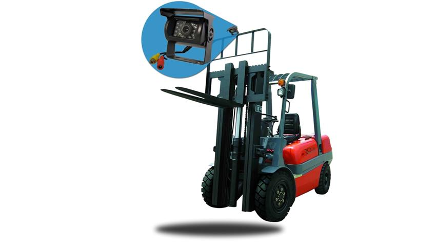 Fork Lift Backup Camera System With 7 Inch Monitor And