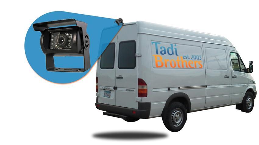 Sprinter Van Backup Camera System|van rear view camera kit-SKU55565