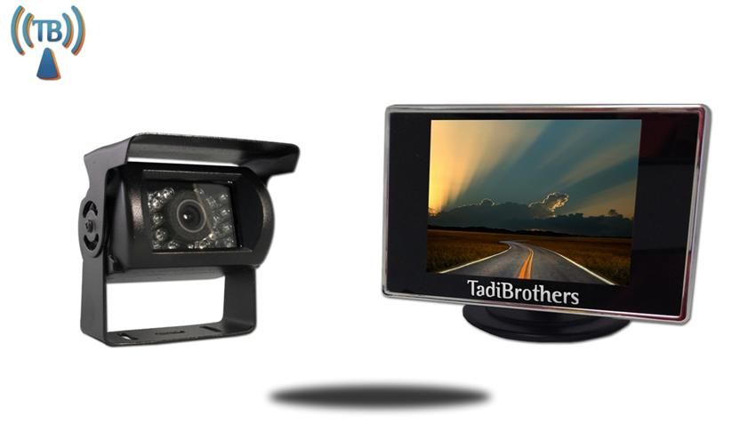3.5-Inch Monitor|Wireless RV backup Camera system with