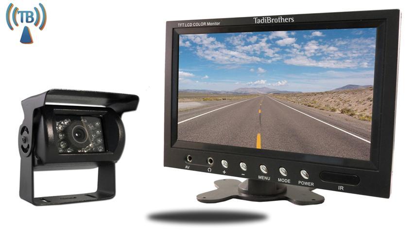 Wireless RV Backup camera with 7 inch monitor