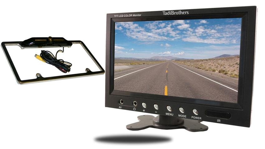 Rearview License Plate Camera System | SKU546812