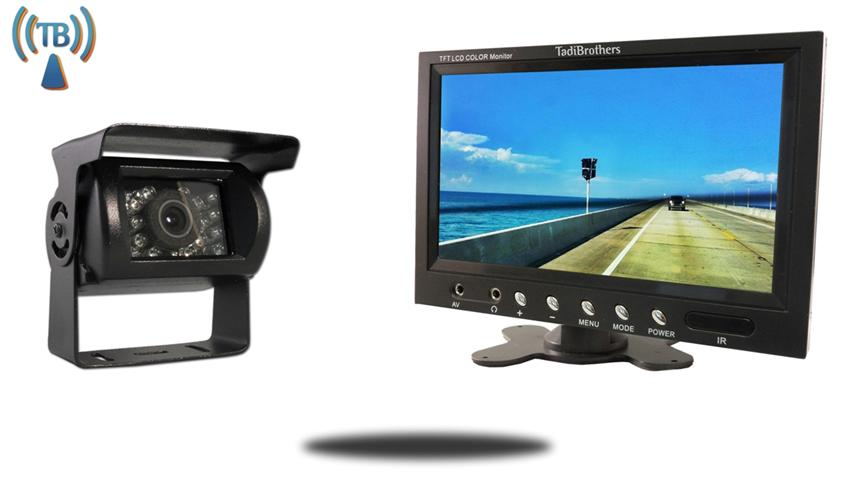 10.5 Inch Monitor with Wireless Mounted RV Backup Camera Great for RV's, Trucks, and Campers!