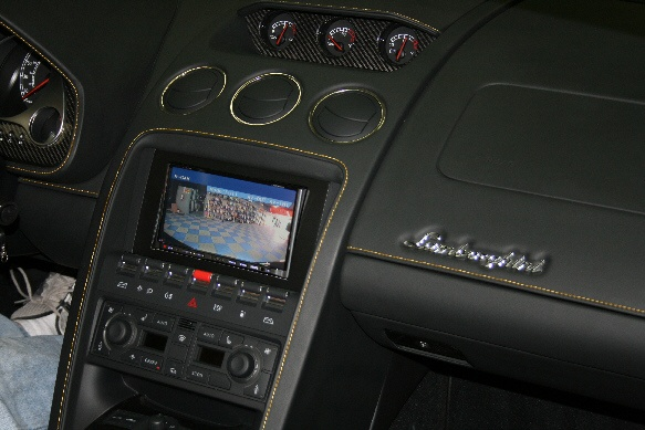 Lamborghini Backup Camera System on
